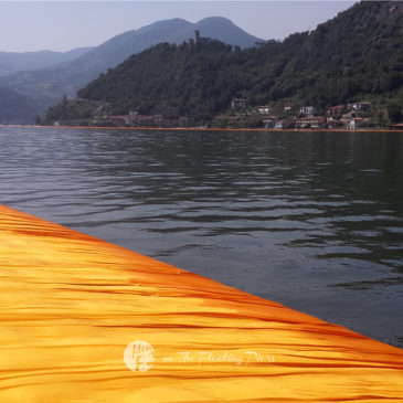 Christo: The Floating Piers sul Lago d'Iseo