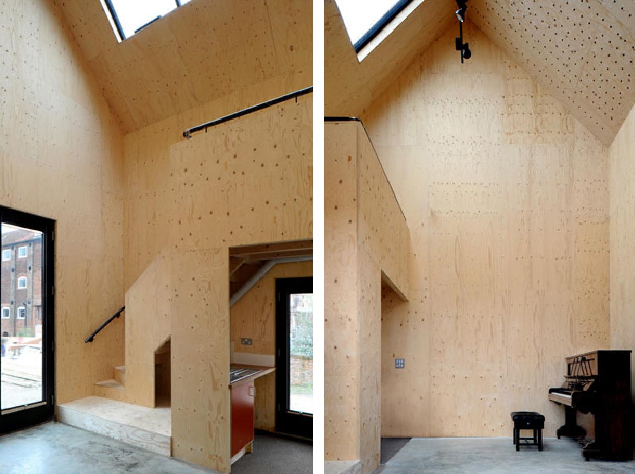 Un vecchio rudere e una scatola di corten idea 82 for Nuova architettura in inghilterra