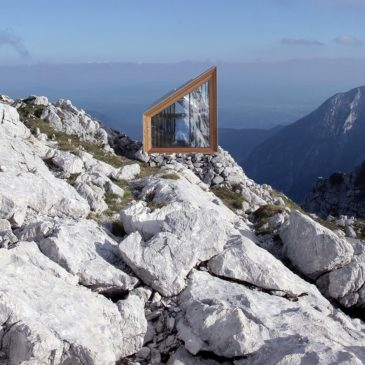 Un rifugio di design in alta quota