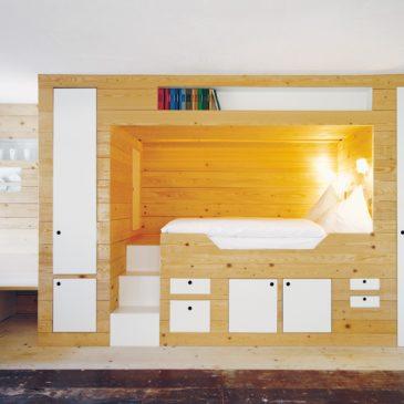 Una guest house alpina di design